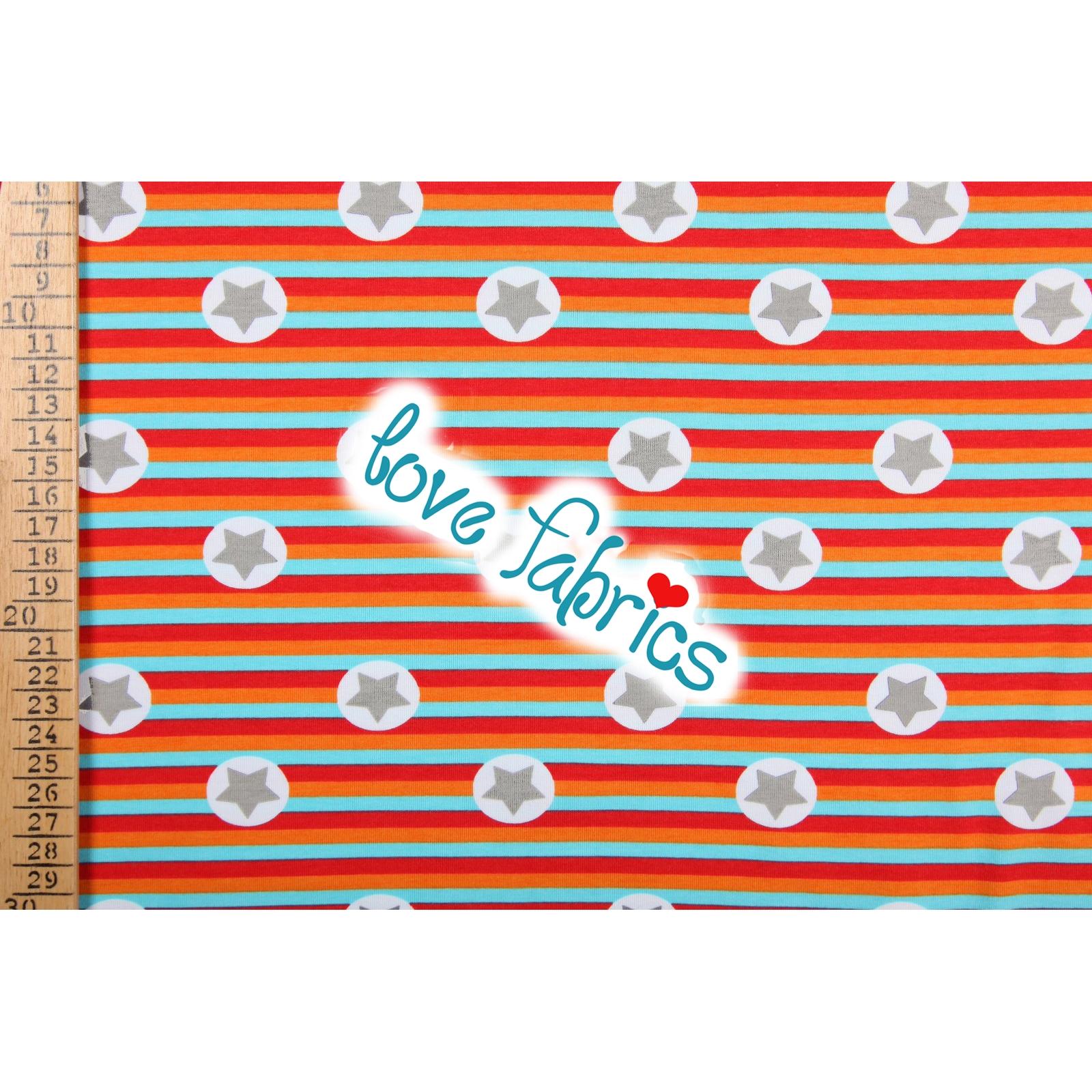 Stars on stripes orange
