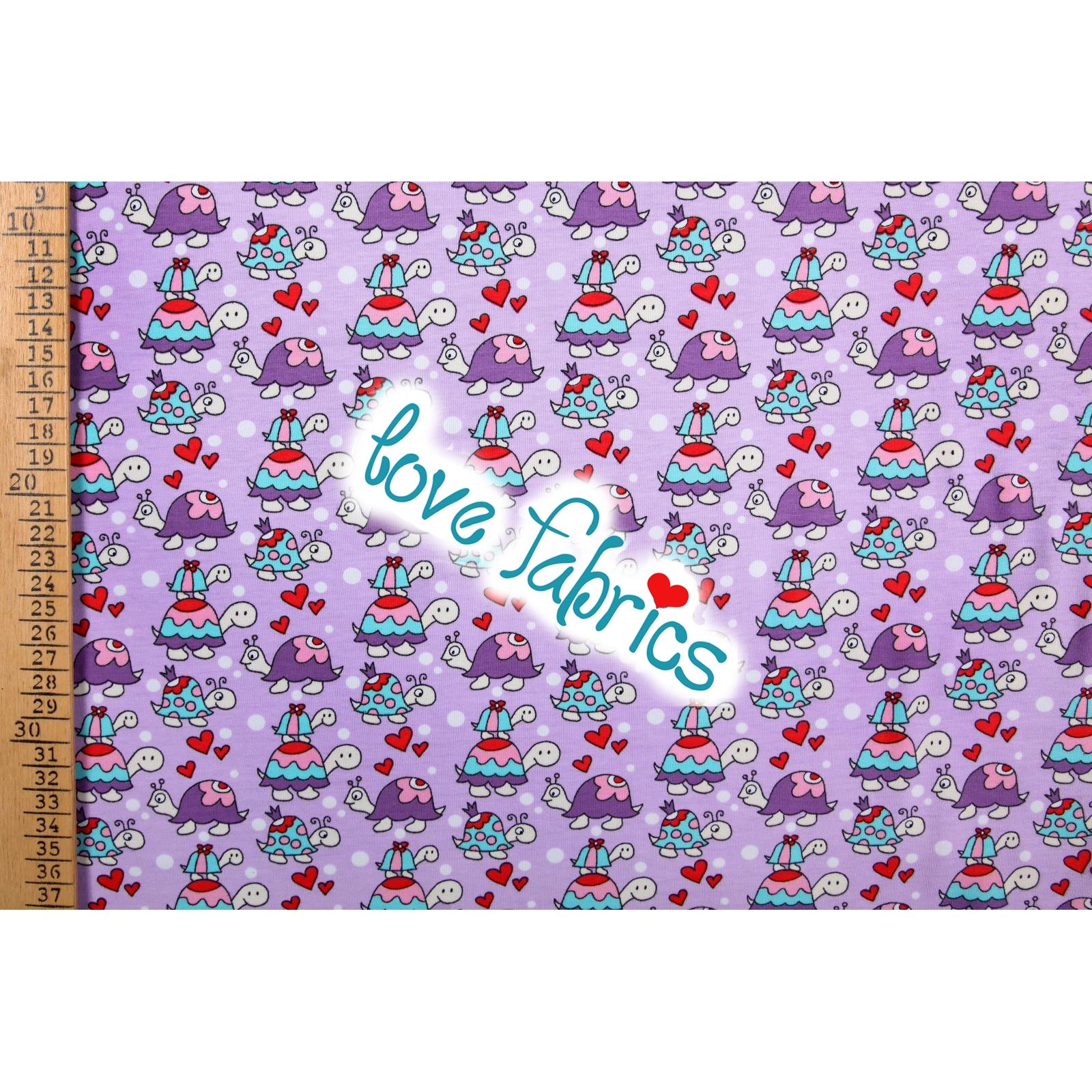 Lovely turtles violet