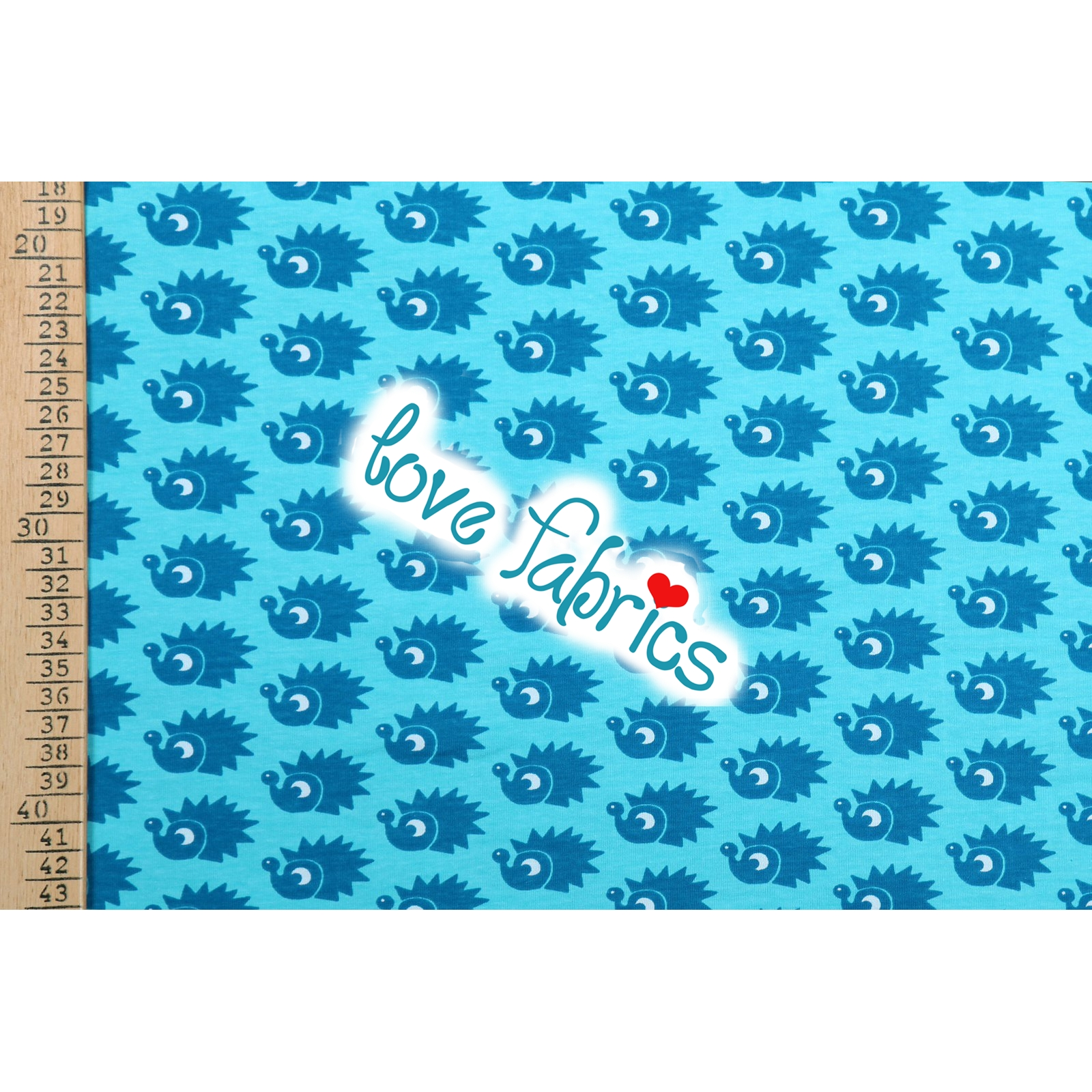 Hedgehogs turquoise